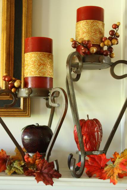 Simple Frugal Fall Decor