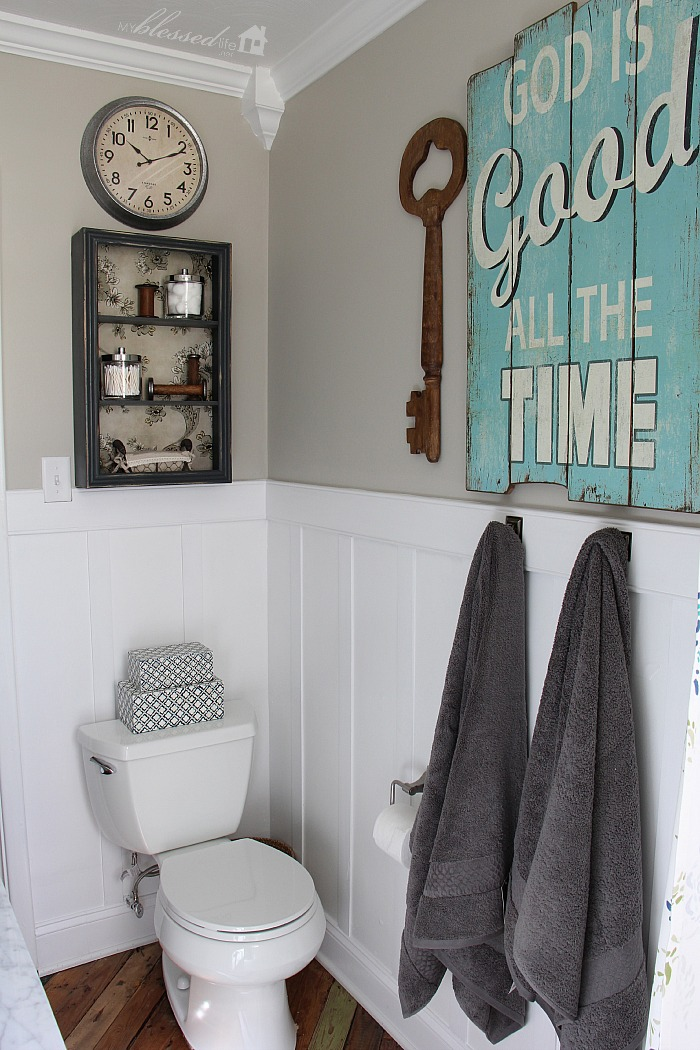 Beautiful CottageStyle Bathroom Makeover  My Blessed Life