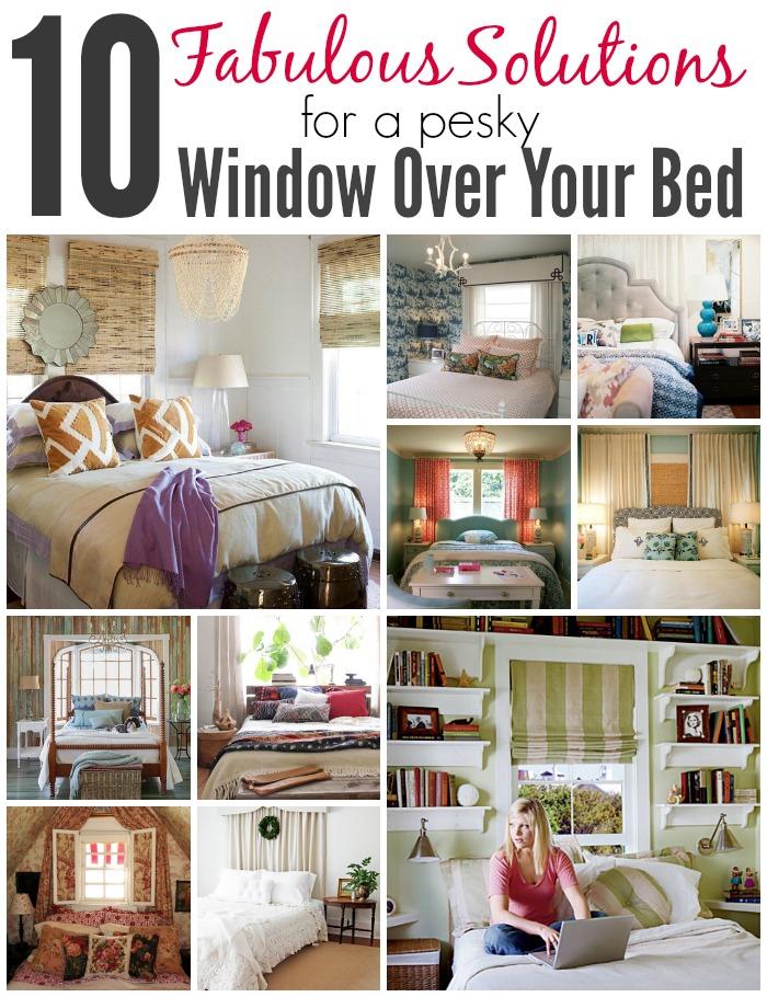 pesky window over your bed