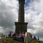 The group at Rodney's Pillar