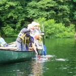 Fishing for the caravan