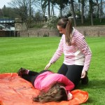 Dealing with a first aid incident