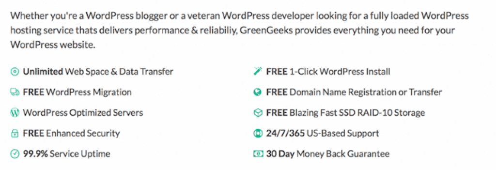 Monthly billing WordPress hosting