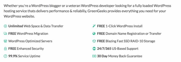 Monthly billing WordPress hosting