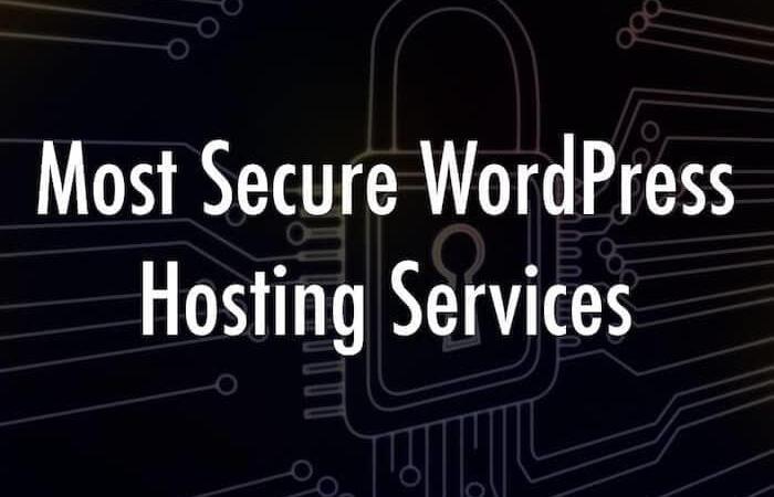 Secure WordPress hosting