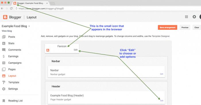 Understanding the Blogger dashboard