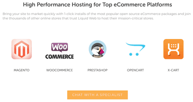 High Performance Hosting for eCommerce