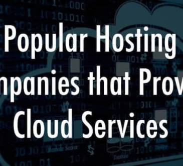 popular companies that provide cloud services