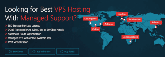 managed vps with DDoS protection