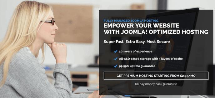 optimized Joomla hosting