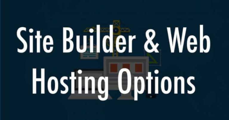 website builder and hosting services
