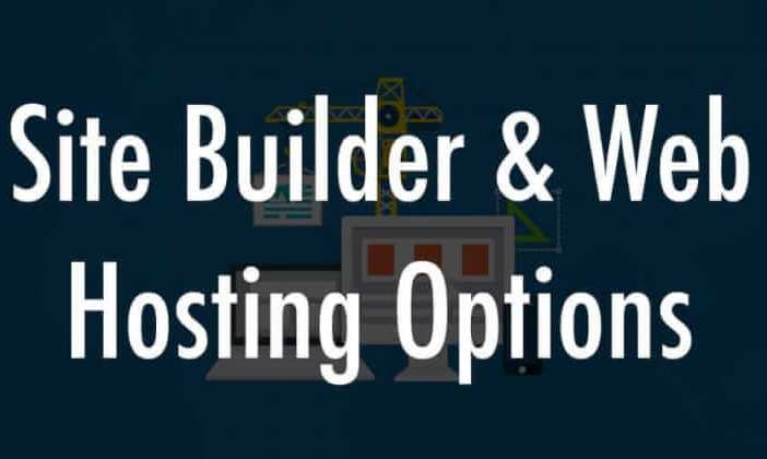 website builder and hosting services