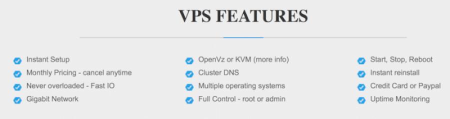 Instant Setup VPS Hosting