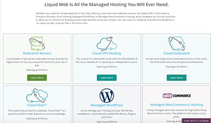 Managed eCommerce web hosting