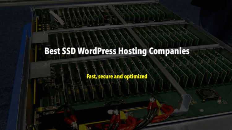 Best SSD WordPress Hosting