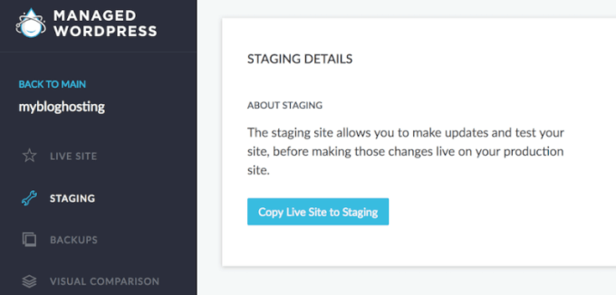 WordPress Hosting with Staging Area: Best 3 Services 3