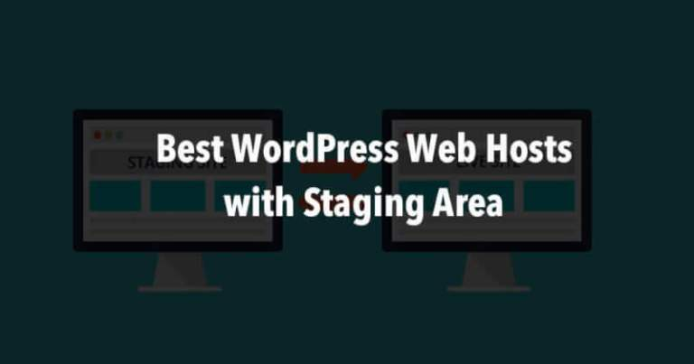 WordPress Hosting with Staging Area
