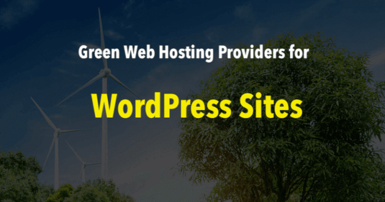 Green WordPress Hosting