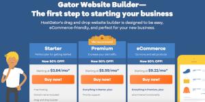 Gator Website Builder Review