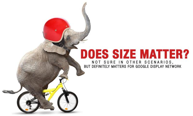 size - Does Size Matter? Dilemma of right Google Display Banner size resolved