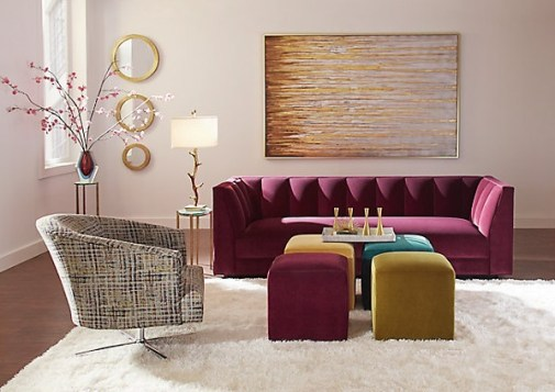 Audrey Cube - Colorful Accent Furniture -