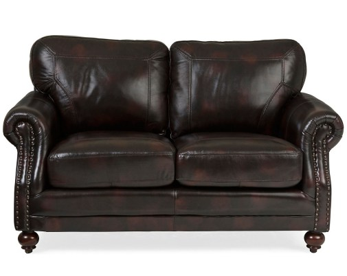6 Leather Sofas and Loveseats for Every Budget