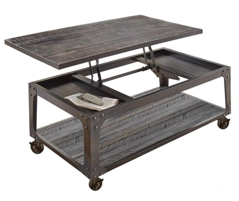 Watson Lift Top Coffee Table on Wheels