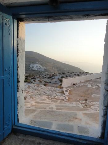 Opening the door to Sikinos