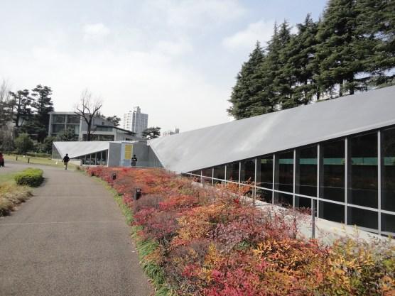 Tadao Ando's 21-21 Design. Also closed when I went!