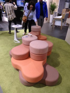 Cool interactive and free seating point. Nowy Styl Group