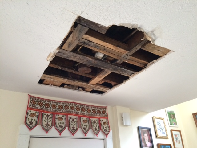 Why Is There A Hole In My Ceiling?