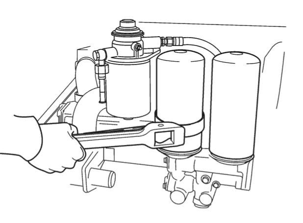 VOLVO PENTA D4-DIY oil & filters Service