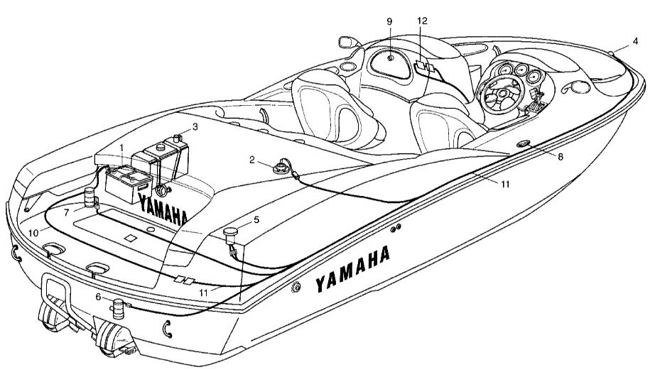2005 Yamaha SR230, SX230, AR230 Boat Service Manual