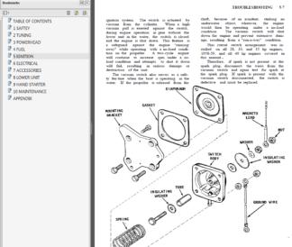 1971-1989 Johnson-Evinrude 1.25 thru 60 HP Service Manual