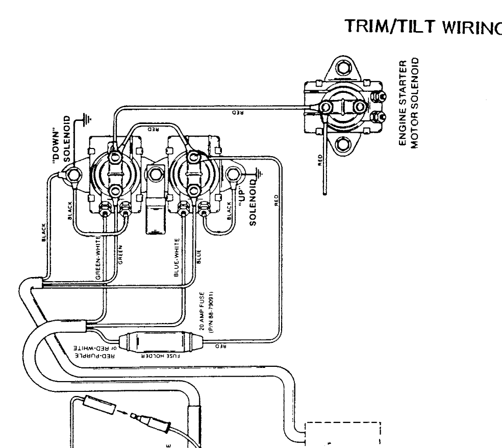 40 Hp Mercury Outboard 2 Stroke Wiring Diagram. Mercury