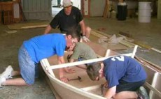 New! Myboatplans 518 Boat Plans   Updated For Higher Comms!  Image of building a boat
