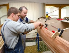 New! Myboatplans 518 Boat Plans   Updated For Higher Comms!  Image of boat building class