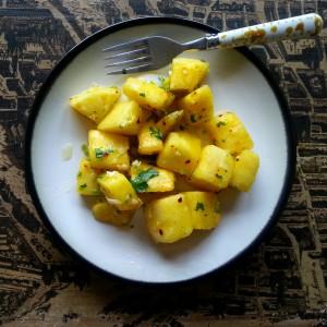 Pineapple chow trinidad