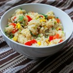 Red, Yellow & Green Rice