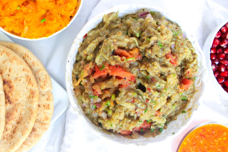 eggplant-baigan-choka-vegan-vegetarian-indian-trinidadian