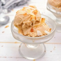 Spiced Peanut Coconut Ice Cream Coconut Flakes Topping - My Body My Kitchen