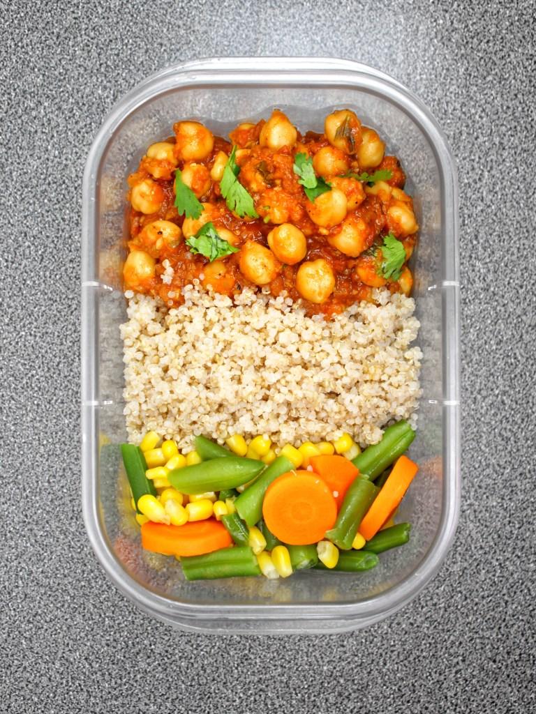 Chickpea (Chana) masala Indian Curry Vegan My Body My Kitchen