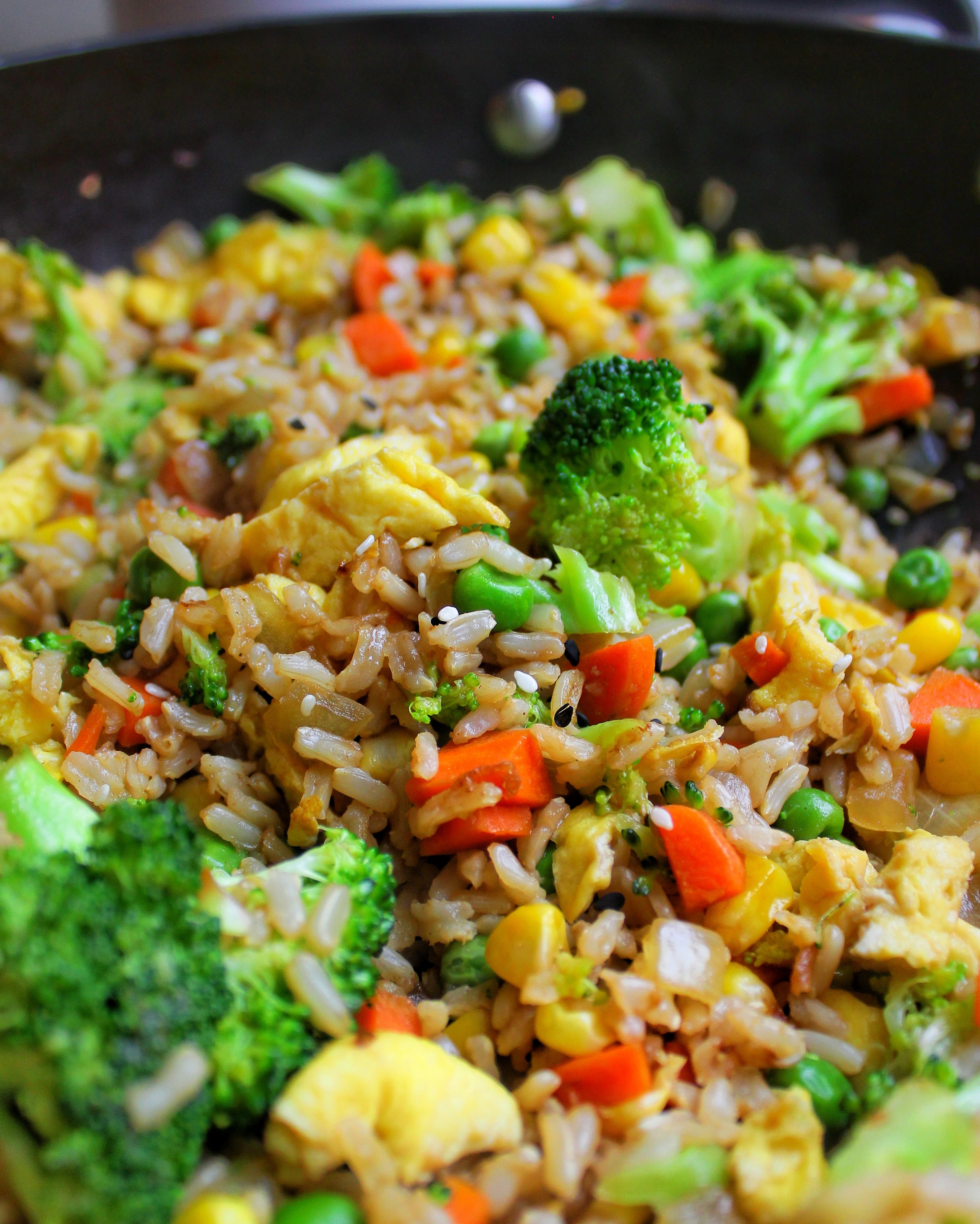 Vegetable Fried Rice My Body My Kitchen