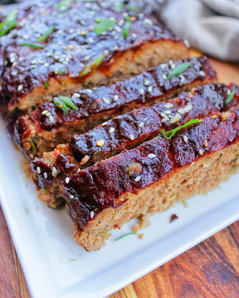 Spicy meatloaf with Asian Flavor My Body My Kitchen
