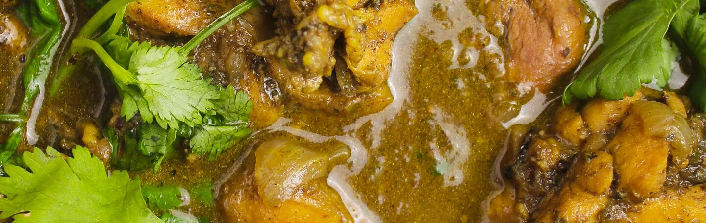 Easy Trinidadian Curried Chicken