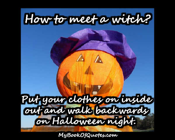 how to meet a witch