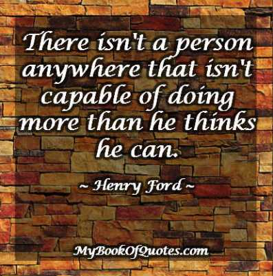Henry Ford Quotes Think You Can