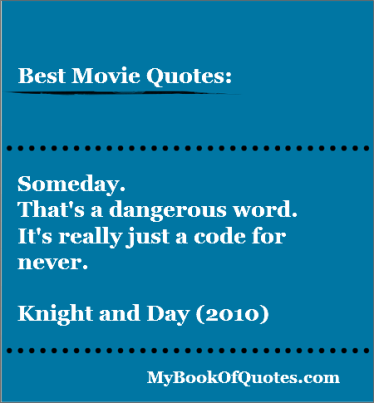 Knight and Day Sequel