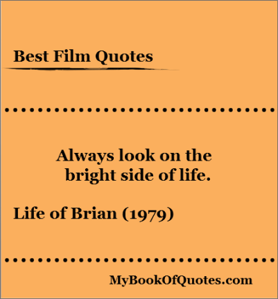 Life of Brian - Bright Side of Life
