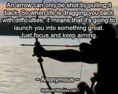 Bow And Arrow Quotes Mybookofquotescom